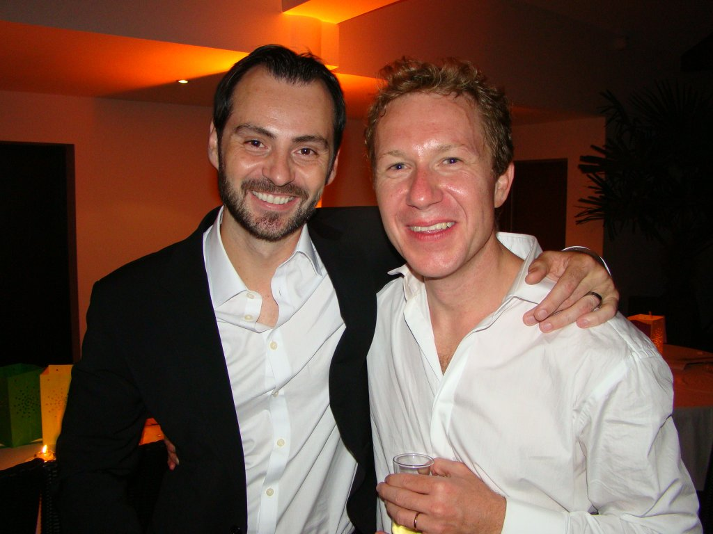 The groom with Alex