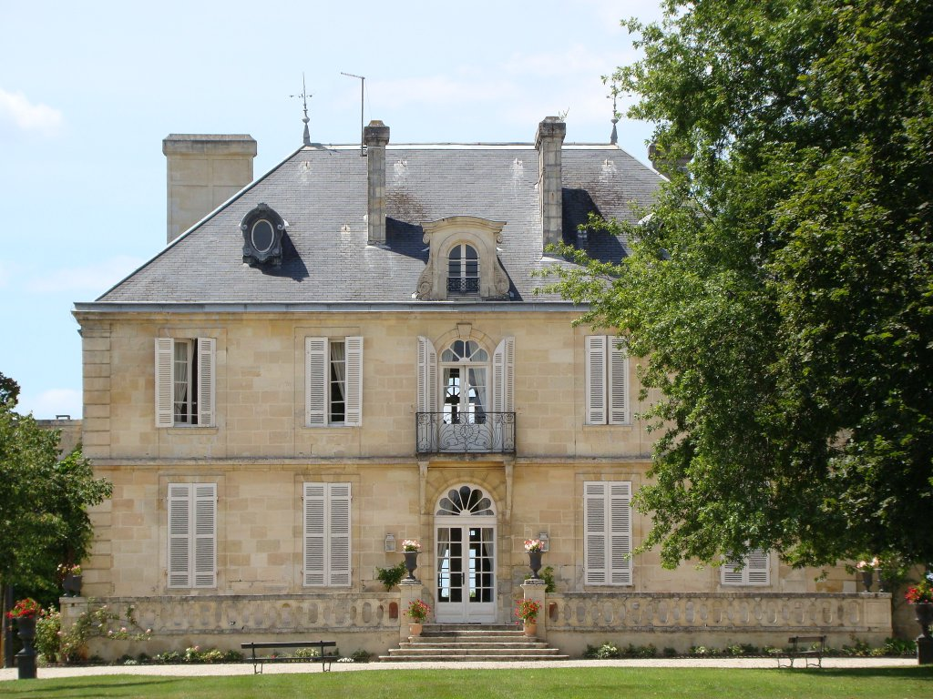 The beautiful Chateau Kirwan