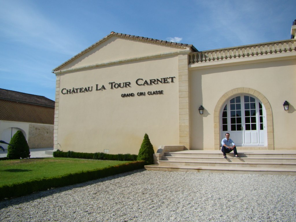 Final pic at Latour Carnet - a memorable experience