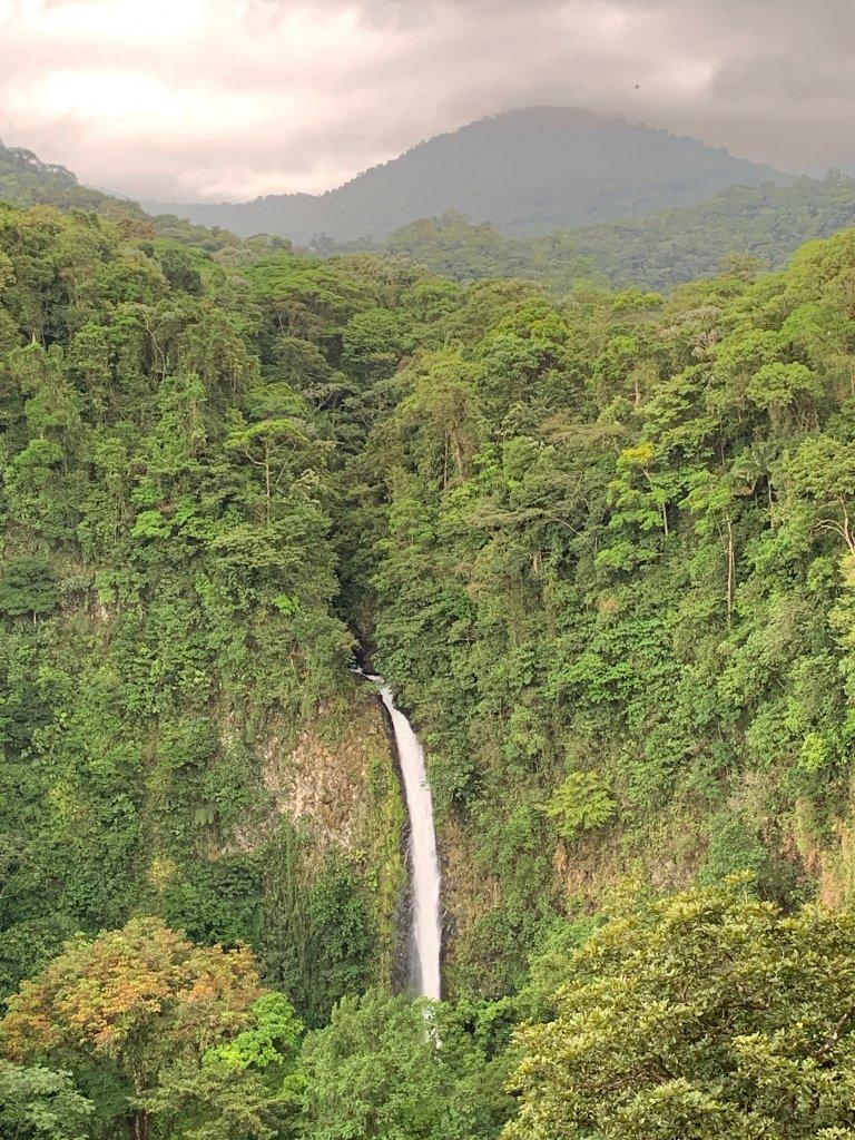 Waterfall near Arenal