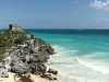 The greatest attraction at the Tulum Ruins is its location