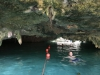 The cave at the Gran Cenote