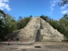 The great pyramid of Nohoch Mul - the highest Pyramid in the Yucatan peninsula
