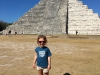 The little one with El Castillo - main temple at Chitchen Itza