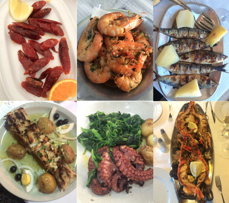 Traditional Portuguese Dishes (Loved it all!)