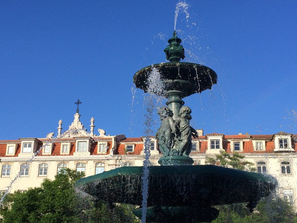 One of Many Lisbon Fountains