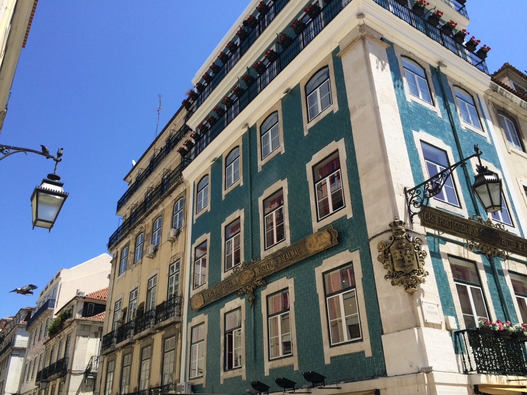 Lisbon Building Color