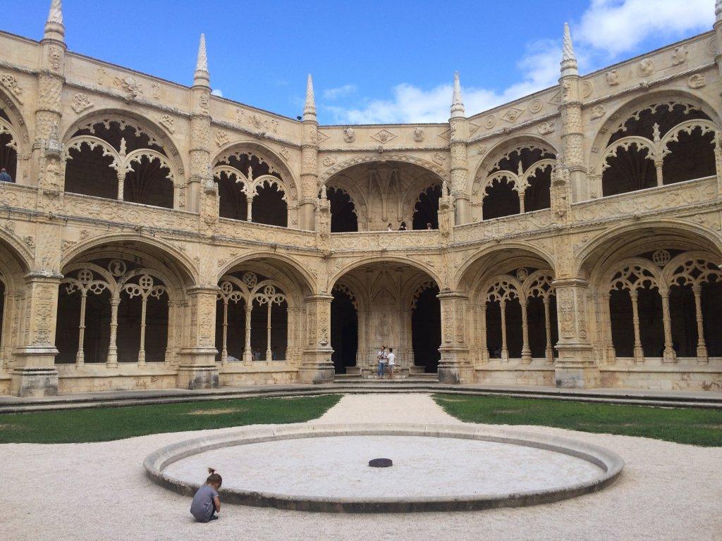 Monastery Courtyard