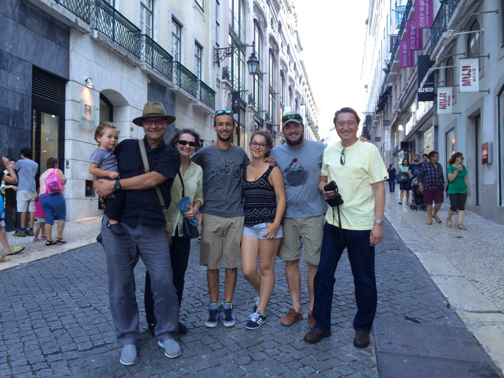 Part of Matti Crew - 1st Day in Lisbon