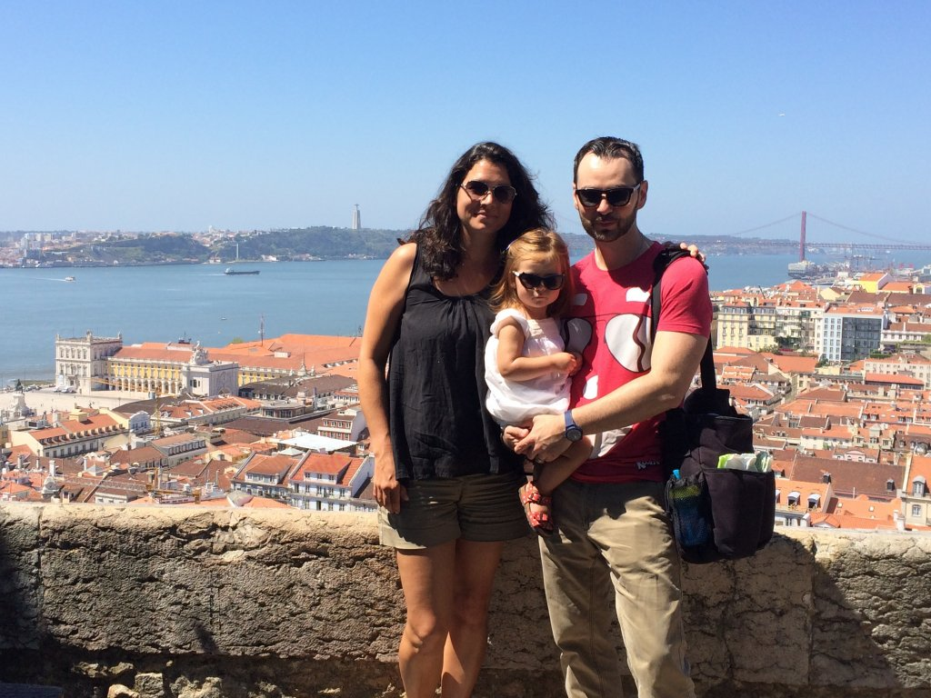 The 3 of us - Castelo San Jorge