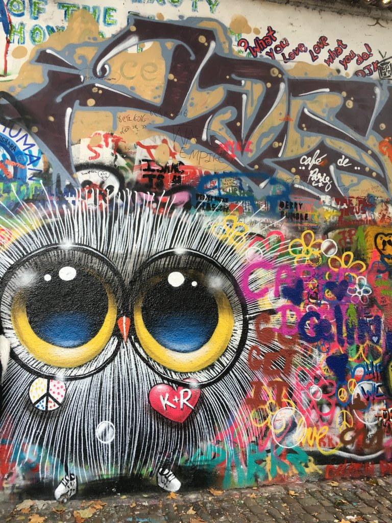 Graffiti on Lennon Wall