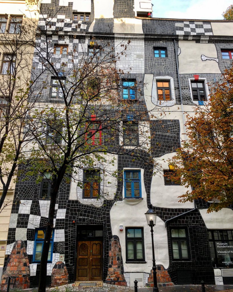 One of Friedensreich Hundertwasser houses