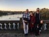 With Rich & Alina - Prague Castle in background