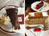 The Sacher Cake & a Cafe Central Puff Pastry Dessert