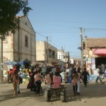 Leaving Dakar (lots going on in the street)