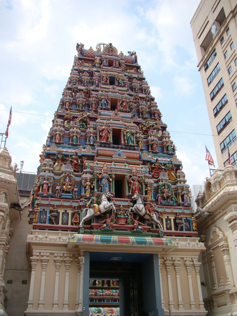 Sri Mahamariamman Temple Oldest Hindu Temple In Kl A B