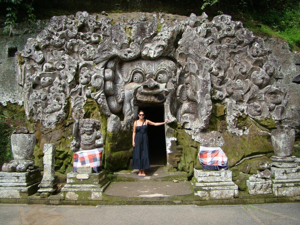 The elephant cave entrance at goa gajah temple a b journey for Designhotel elephant prague 1 czech republic
