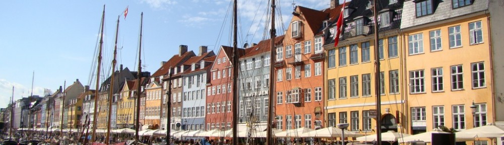 The colorful Nyhavn - 17th century waterfront canal (littered with restaurants/bars)