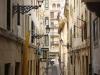 One of San Sebastian\'s narrow streets