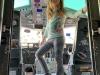Olivia at El Avion or the C-123 Fairchild