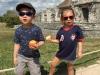 These 2 enjoying Tulum's ruins