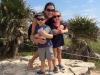 One BIG hug at Tulum ruins