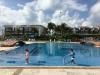 O & J at the pool (or pools)