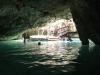 Inside the Gran Cenote
