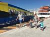Grabbing a ferry to Cozumel island