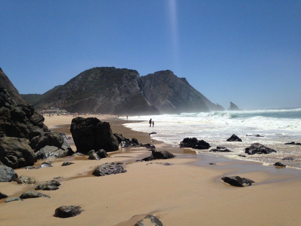 A Day at Praia (Beach) Adraga (water was very cold)