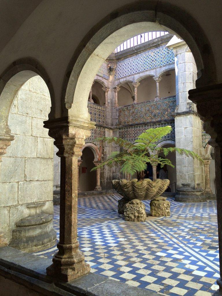 Palacio de la Pena Interior