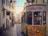 Graffiti on Tram (Bairro Alto)