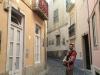 Narrow Street en route to Castelo San Jorge