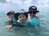 Fun at Friar's Bay Beach